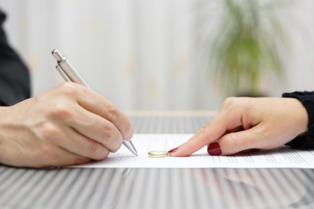 signing a marital settlement agreement